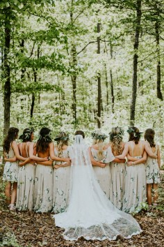 demoiselles d'honneur mariage nettoyage robe de mariée