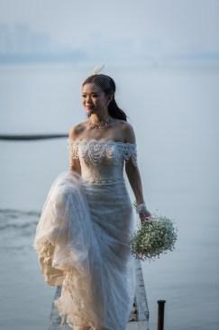 mariage culture amérindien pressing robe mariée plume