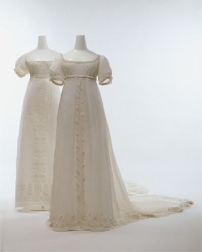 pressing robe mousseline mariage