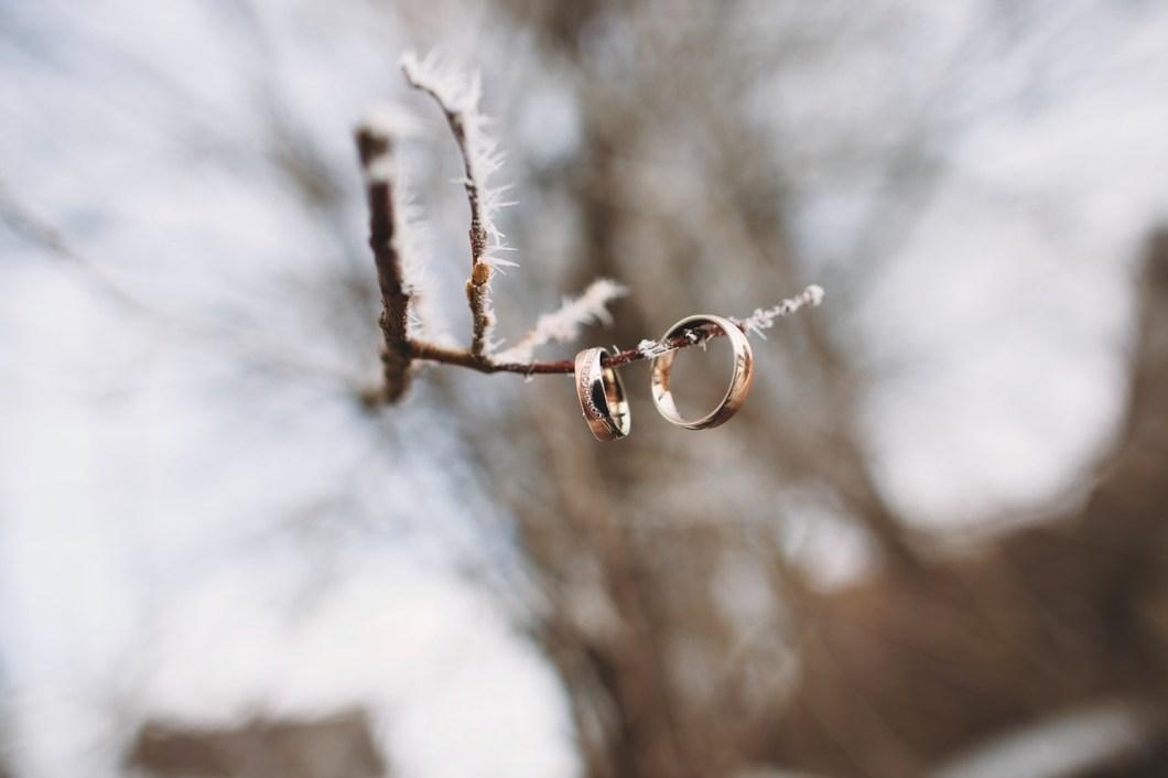 se marier en hiver pressing robe mariage forêt