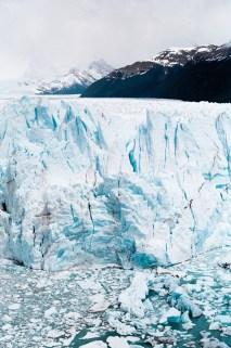 perito moreno patagonie nettoyage robe mariage hivernal