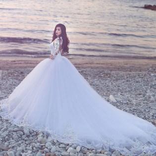 se marier en hiver nettoyage robe de mariée manches longues