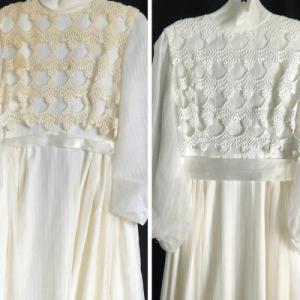 Restauration robe ancienne