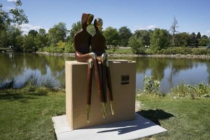 Loveland Sculpture Couple
