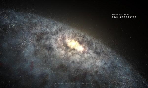 Artist Radu Eduard's Spectacular Galaxy With Particular ...