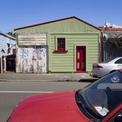 Street scene, Newtown, Wellington, New Zealand.