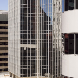 Digital photograph, glass tower, Wellington New Zealand
