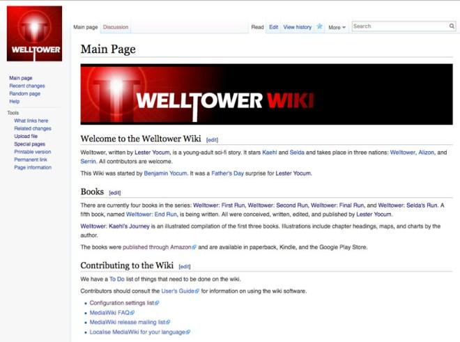 Welltower Wiki Screenshot