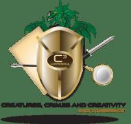 Crime, and Creativity Logo