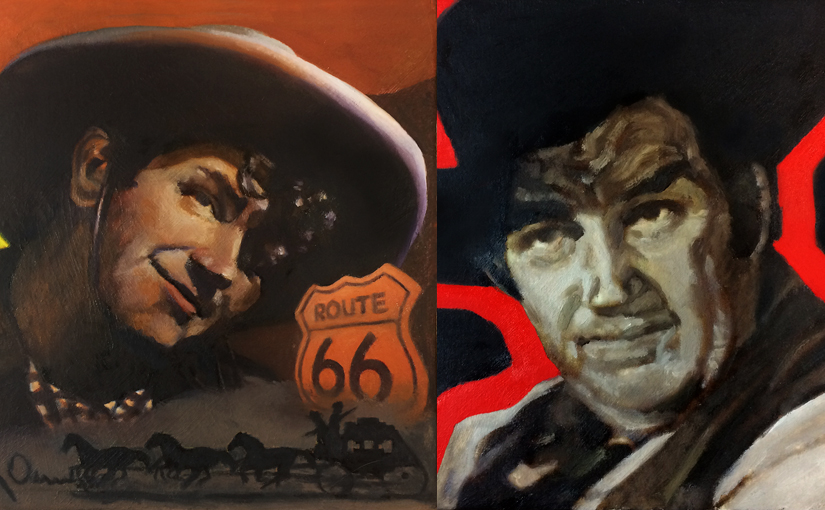 Andy Devine Paintings Featured Image