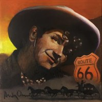 Andy Devine Painting Montage