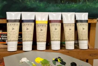 Geneva Paints on my Pallete Featured