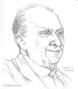 Sketch of Thomas S. Monson