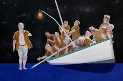 Peter Walking on the Water - Modern Version