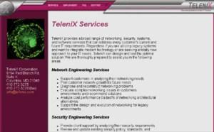 Early Telenix Webpage