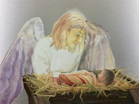 Watching Over the Newborn Lord