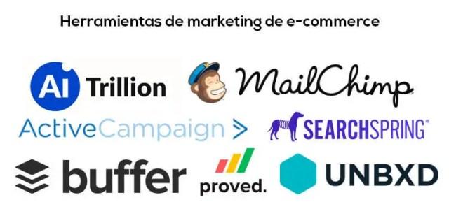 Las mejores herramientas de E-commerce para empresas esté 2020 Herramientas de marketing de e commerce