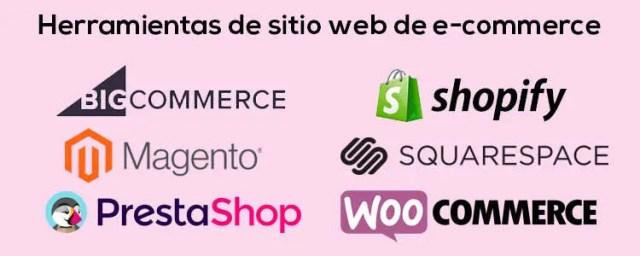 Las mejores herramientas de E-commerce para empresas esté 2020 Herramientas de sitio web de e commerce