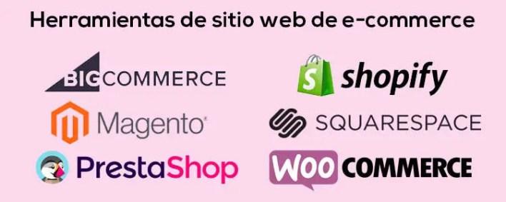 Las mejores herramientas de E-commerce para empresas esté 2020