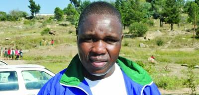 LAAA spokesperson Sejanamane Maphathe