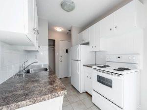 Elmwood apartments kitchen