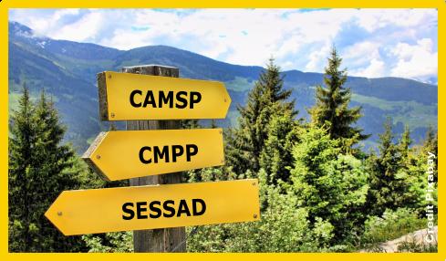CAMSP CMP CMPP SESSAD