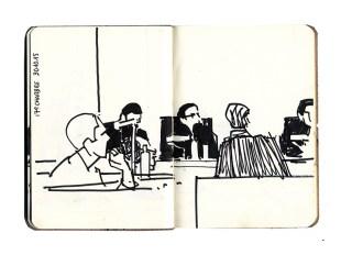 Mme le procureur : « Le parquet considère que la plainte de l'Agrif n'est pas caractérisée […] et demande donc la relaxe. » © Frédéric Chaume