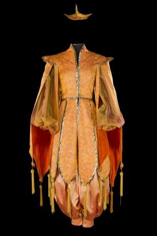 Costume deDeirdreClancy pourlerôle d'uneChinoise dans«FairyQueen» dePurcell ©FlorentGiffard