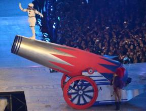 human-cannonball-closing-ceremony