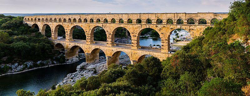 le Pont du Gard : 3 étoiles Michelin!