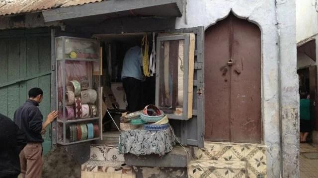 Médina de Rabat, boutiques