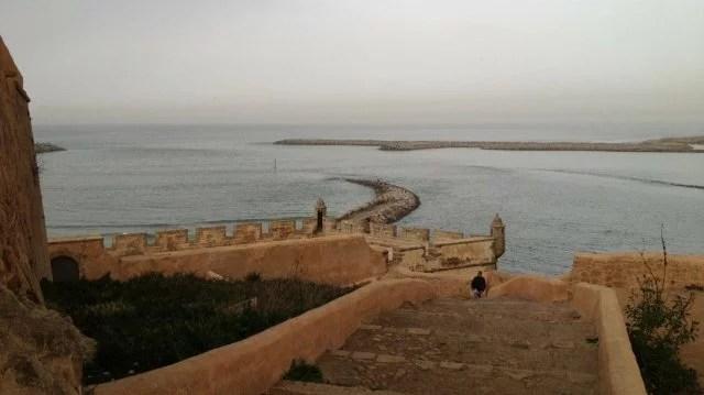 Kasbah des Oudayas, entrée du port de Rabat
