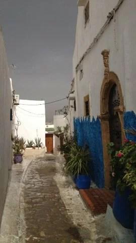 Kasbah des Oudayas, ruelle