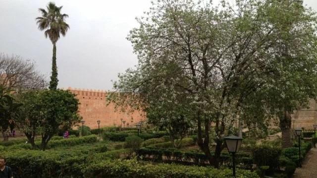 Kasbah des Oudayas, jardin