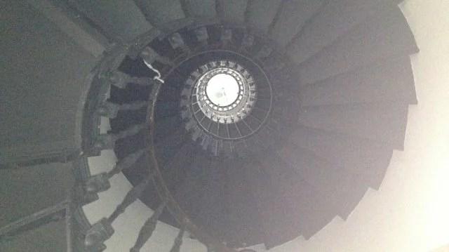 Columbrete Grande, colimaçon du phare