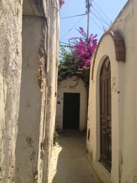 Capri, ruelle