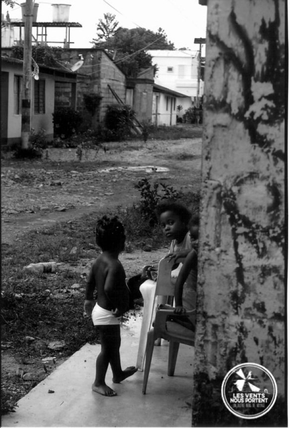 enfants de Capurgana en Colombie