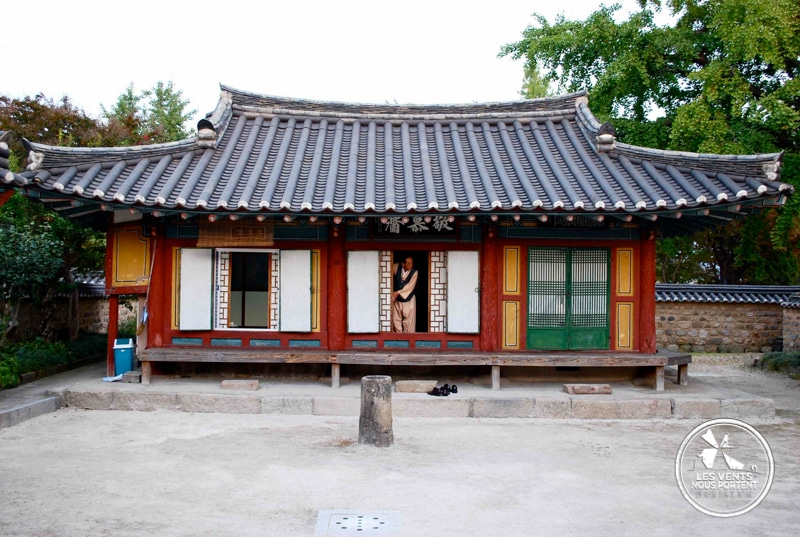 Hanok à Gyeongju Coree-du-sud