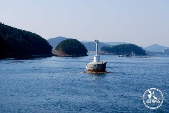Arrivée à Hansando Coree-du-sud