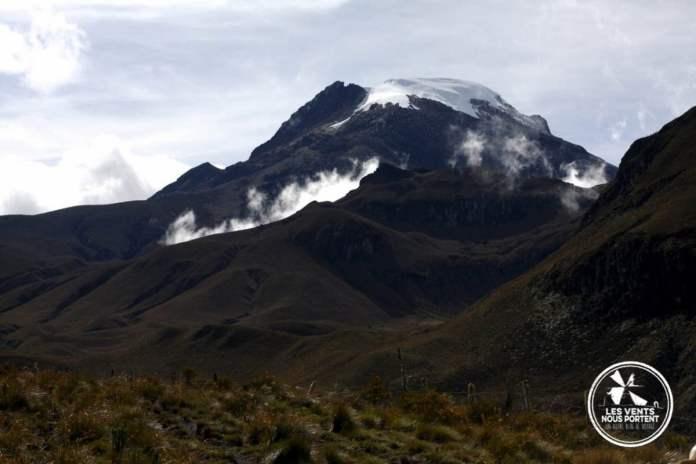 Volcan Tolima Los Nevados Colombie