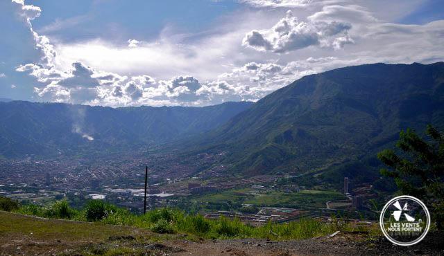 Vue Medellin Colombie