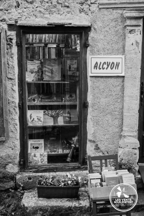 Alcyon Librairie à Montolieu Village du Livre France