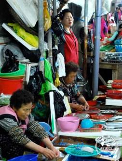 Marché de Tongyeong Coree du Sud
