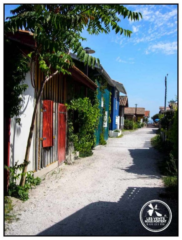 Maison couleur Le Canon Photos Bassin d'Arcachon Tourisme Gironde