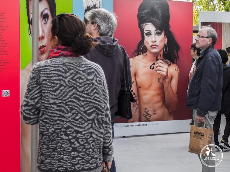 Travesti Luis Arturo Aguirre Photo Quai 2015 Paris
