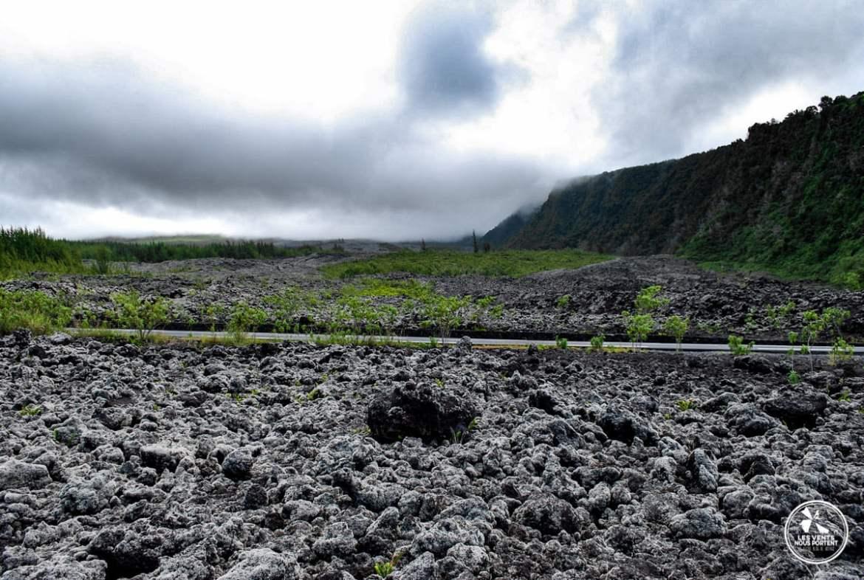 Road trip sur la côte sauvage Coulée de lave photos ile de la reunion