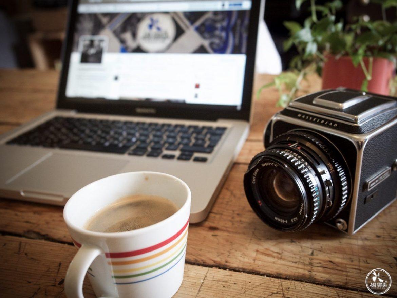 Ordinateur Photo Café les mamelles du travail de blogueur voyage