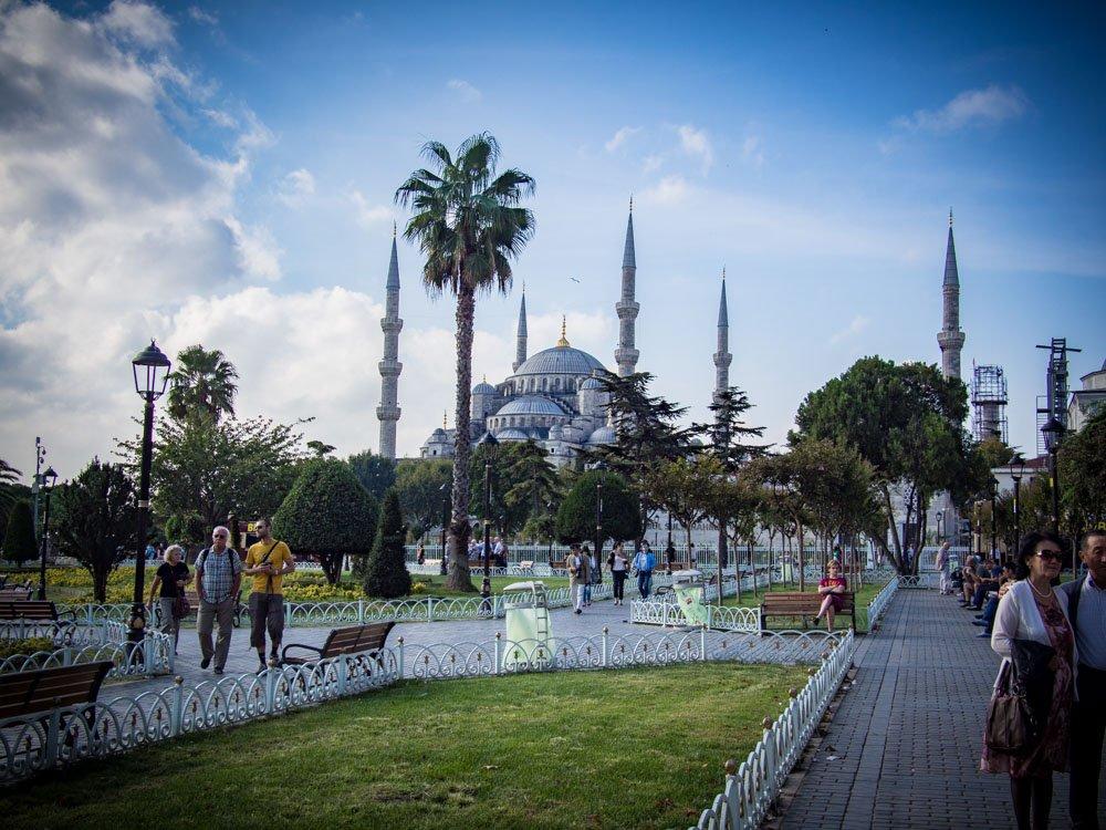 mosquée bleue voyage à istanbul