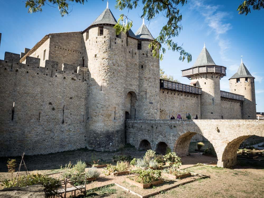 le château comtal cite de carcassonne patrimoine mondial unesco