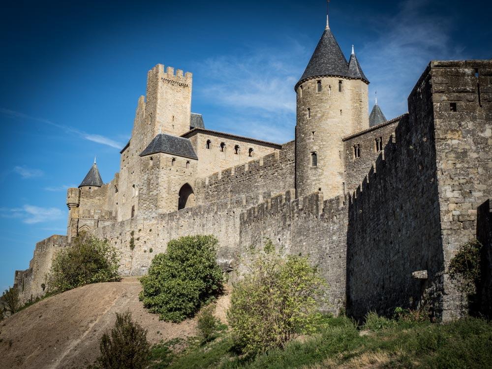 remparts cite de carcassonne patrimoine mondial unesco